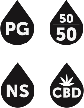 PG, 5050, NS, CBD